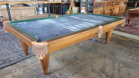 REBCO 9ft Pool Table ~ RARE !