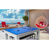 "The ""ESTERNO"" Outdoor Flip Dining Top & Ping Pong Table by Imperial"