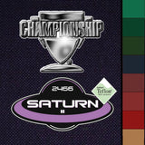 Championship Saturn II 8' Billiard Cloth Felt for sale online