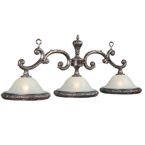 "3 Light Traditional Style - 55"" Billiard Light"