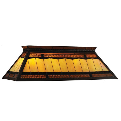 "Filigree - 44"" Billiard Light With Knockdown Frame"