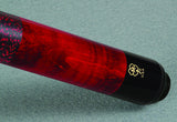 McDermott GS Series Traditional Pool Cue GS03 butt detail