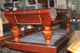 Antique Brunswick-Balke-Collender 9' Pool Table c. 1890 - Newly Refurbished