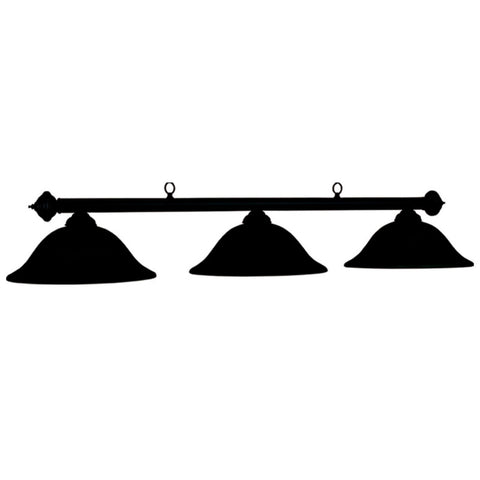 "Marseilles - 60"" Billiard Light - Painted Black"