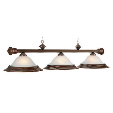 "3 Light 60"" Billiard Light - Cherry"