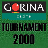 Gorina Tournament 2000 7' Billiard Cloth Felt - Choose Color
