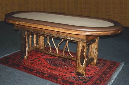 Drawknife Hold'em Poker Table