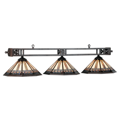 "54"" Winslow 3 Light Billiard Light"