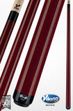 Viking Pool Cue A213 Black Cherry Stain Northwoods Maple cherry stain pool cue stick