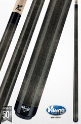 Viking Pool Cue A214 Smoke Stain on Northwoods Maple smoke grey cue stick
