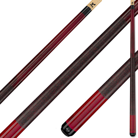 Viking A221Pool Cue Black Cherry Stain on Northwoods Maple V PRO Shaft for sale online
