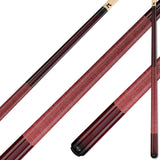 Viking Pool Cue A222 Bordeaux Stain on Northwoods Maple for sale online