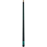 Viking Pool Cue A282 Jade Stain on Northwoods Maple w/ Green Pearl Sleeve entire cue stick