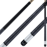 Viking Pool Cue A284 Black Stain on Northwoods Maple w/ Pearl Sleeve for sale online