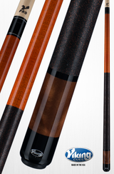 Viking Pool Cue A288 Autumn Stain on Northwoods Maple w/ Pearl Sleeve for sale free shipping