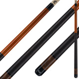 Viking Pool Cue A288 Autumn Stain on Northwoods Maple w/ Pearl Sleeve for sale online