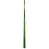 Viking Pool Cue A355 Emerald Stain Birdseye Maple Points on Northwoods Maple Forearm entire sneaky pete pool cue stick
