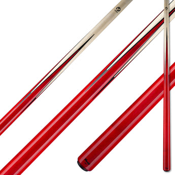 Viking Pool Cue A365 Crimson Stain Birdseye Maple Points on Northwoods Maple Forearm sneaky pete hustler for sale online