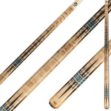 Viking A901 Khaki & Smoke Stain on Birdseye Maple w/ Exotic Wood & Turquoise Inlays
