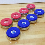 CHAMPION - AMERICAN LARGE WEIGHT SET 4 Red 4 Blue