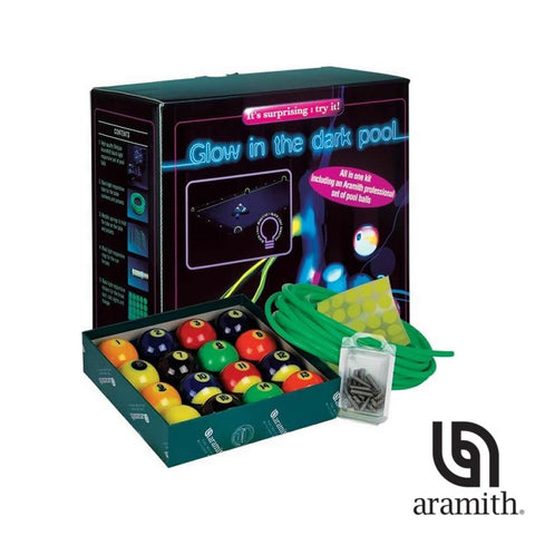 Aramith Glow in the Dark Billiards Set for sale online