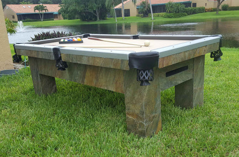 "The ""ARTISAN"" Outdoor Pool Table"