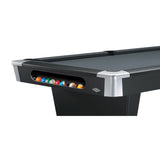 Black Wolf - New Pool Table by Brunswick ball storage