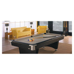Black Wolf - New Pool Table by Brunswick in room