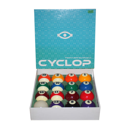 Cyclop Traditional Billiards Pool Ball Set