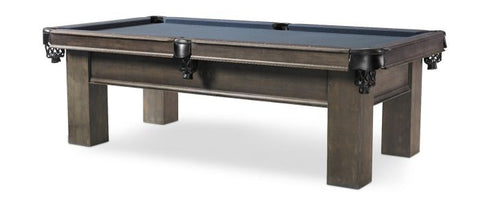 "The ""ELIAS"" 8ft Pool Table by Plank and Hide with Drawer"