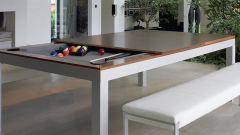 Fusiontables Powder Coated Steel 7' Pool Table for sale online