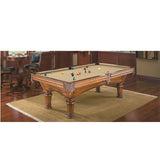 Glenwood - New Pool Table by Brunswick in california alternate finish in room