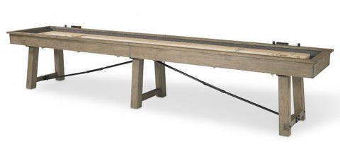 "The ""ISAAC"" Shuffleboard Table by Plank and Hide"