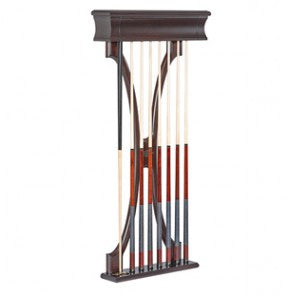 Lexington Pool Cue Wall Rack by Brunswick - Holds 8 Cues