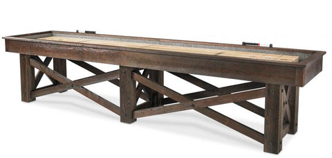"The ""McCormick"" Shuffleboard Table by Plank and Hide"