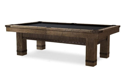 "The ""MORSE"" Pool Table by Plank and Hide"