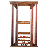 Provincial Deluxe Pool Cue Wall Rack by Olhausen  for sale online