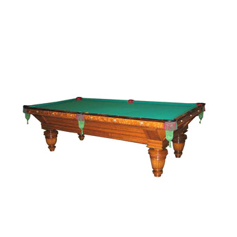 Brunswick Union League Antique Oak 9ft Pool Table for sale online
