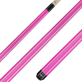 Valhalla Pool Cue Ultra Pink Opaque, Hard Rock Maple & Nickel Silver Rings - VA106 for sale online