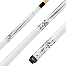 Valhalla Pool Cue 12 Point Graphic Transfers, Hard Rock Maple & Nickel Silver Rings - VA221 for sale online
