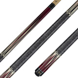 Valhalla Pool Cue, Linen Wrap Hard Rock Maple & Graphic Point Transfers - VA303 for sale online
