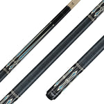 Valhalla Pool Cue, Linen Wrap Hard Rock Maple & Graphic Point Transfers - VA311 for sale online