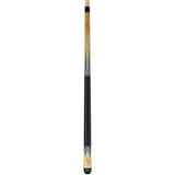Valhalla Pool Cue Multi-Color Graphics, Nickel Silver Rings, Linen Wrap, Hard Rock Maple - VA501 entire cue stick