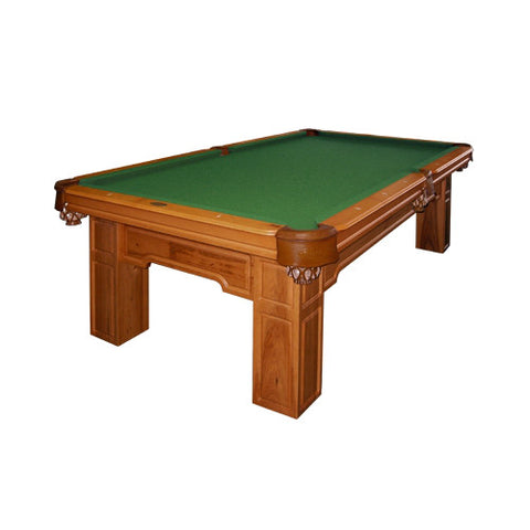 Championship Titan 8' Billiard Cloth Felt basic green