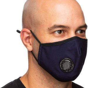 Filtered Carbon Face Mask with a Breathing Valve Pm 2.5 - Diplomatic Xchange