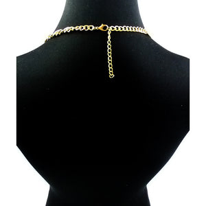 Multi Layer Gold Body Chain Necklace - Diplomatic Xchange