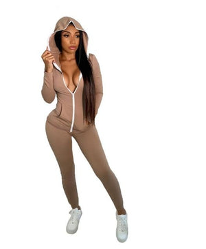 Hooded Zip Top Tracksuit