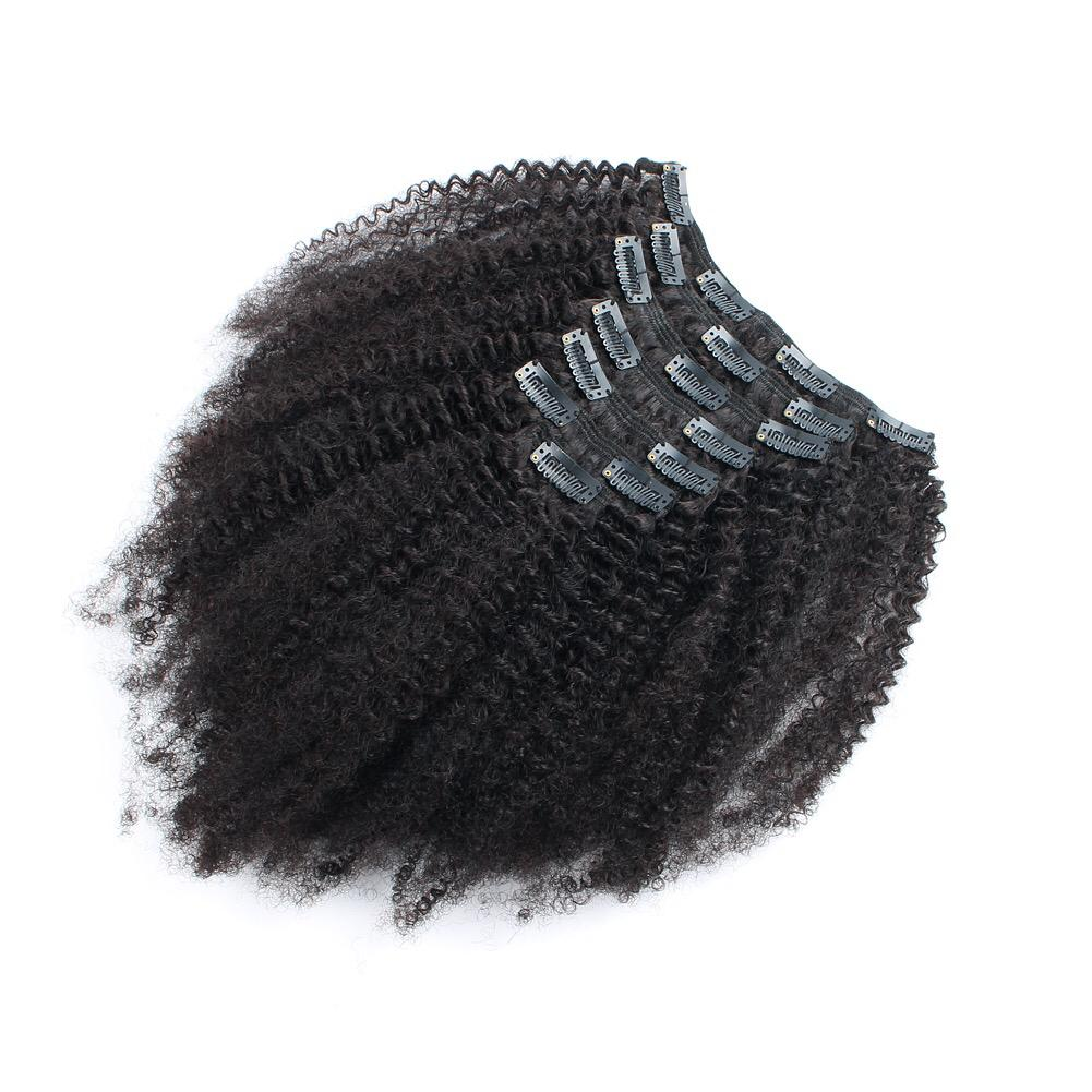 AFRO KINKY CURLY 3B-3C  CLIP INS