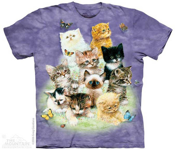 The Mountain 10 Kittens T-Shirt