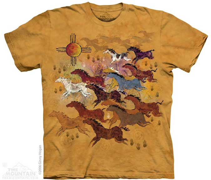 The Mountain Horses and Sun T-Shirt